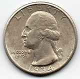 1934-P Washington Quarter (90.0% Silver)