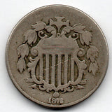 1876 Shield Nickel