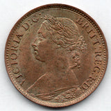 Great Britain 1 Farthing 1886