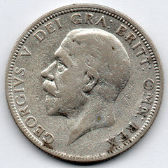 Great Britain 1 Florin 1932 - RARE (50.0% Silver)