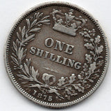 Great Britain 1 Shilling 1875 (92.5% Silver)