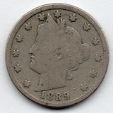 1889 Liberty Head Nickel (V Nickel)
