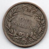 Great Britain 1 Shilling 1871 (92.5% Silver)