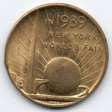 U.S. New York World's Fair Token - Washington Inauguration Token 1939