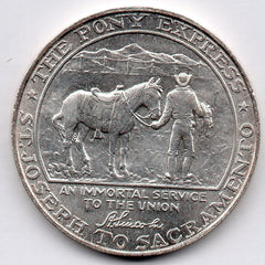 The Pony Express Centennial Medal 1861-1961 (Silver)