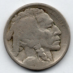 1913-P Buffalo Nickel - Type 2 (V Nickel)