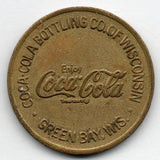 Coca Cola - Green Bay, Wisconsin Token