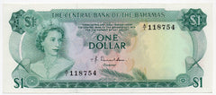 Bahamas 1 Dollar - Uncirculated (P-35a)