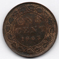 1905 Canada Large Cents (Penny)