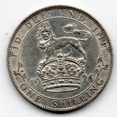 Great Britain 1 Shilling 1926 (50.0% Silver)