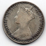 Great Britain 1 Florin 1853 (92.5% Silver)