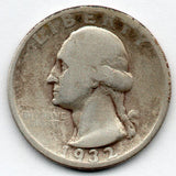 1932-D Washington Quarter (90.0% Silver)
