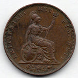 Great Britain 1 Farthing 1834