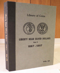 Library of Coins Vol.24 - LIBERTY HEAD SILVER DOLLARS Part 2 1887-1897