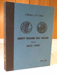 Library of Coins Vol.20 - LIBERTY WALKING HALF DOLLARS Part 2 1937-1947