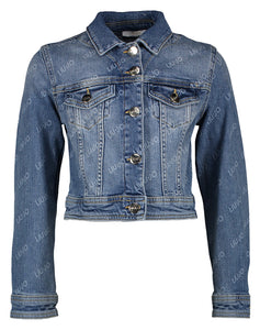 LIU JO JACKET DA0123D4476 DENIM LOGO