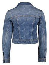 Afbeelding in Gallery-weergave laden, LIU JO JACKET DA0123D4476 DENIM LOGO