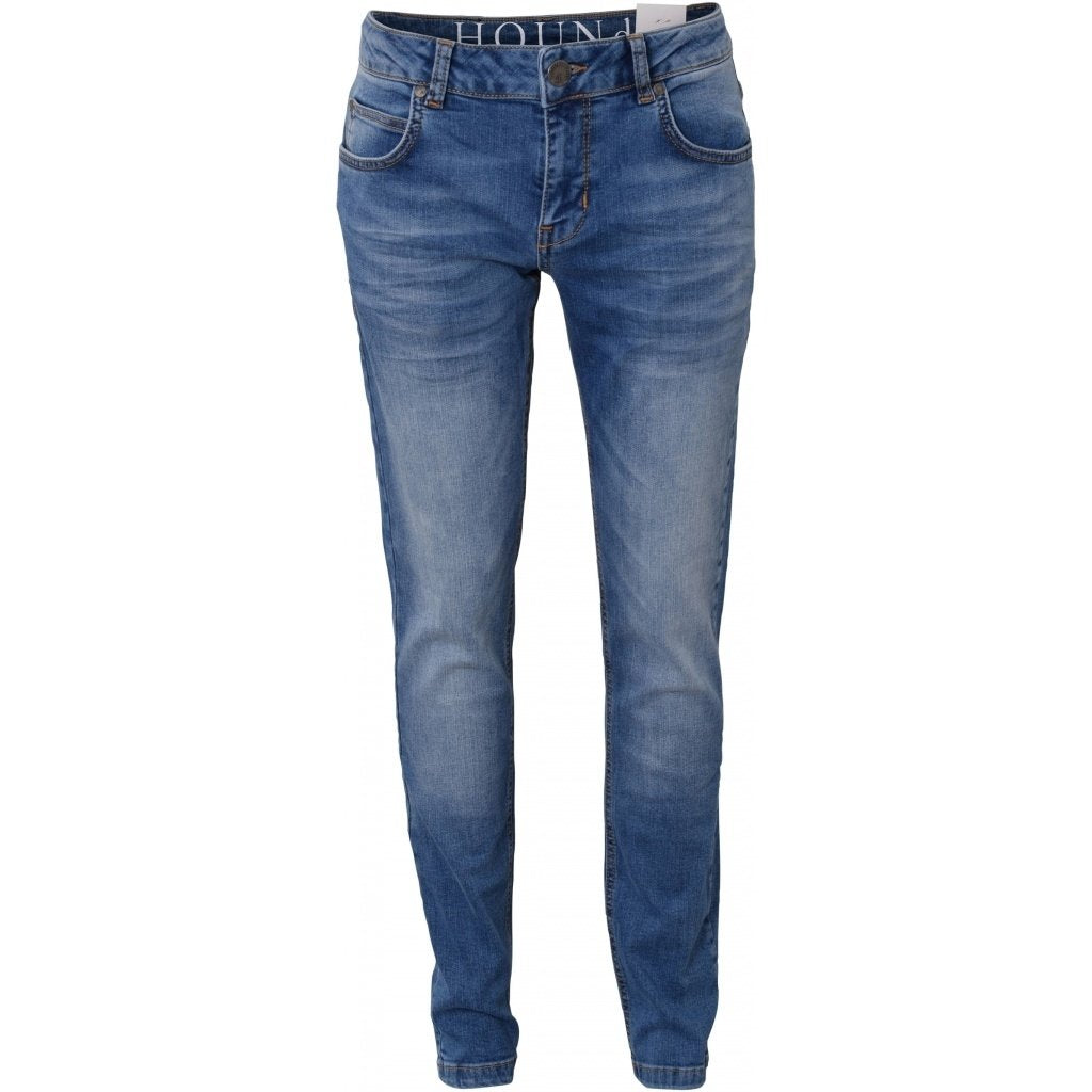HOUND JEANS XSLIM USED BLUE DENIM