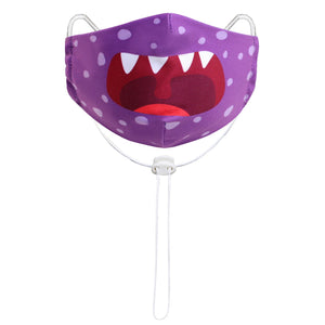 Kindermaske Lila Monster