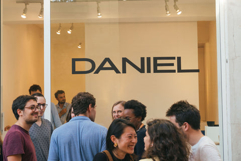 DANIEL édition pop-up store Paris Design Week 2018