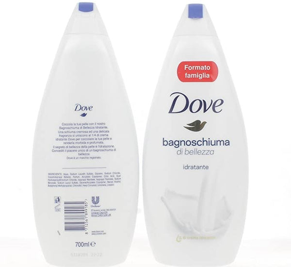 Bagnoschiuma Dove, 700ml (5007497756717)