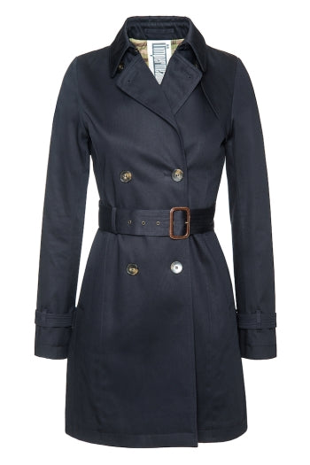 L'impermeabile Lesly Wool Honey Short Trench jacket