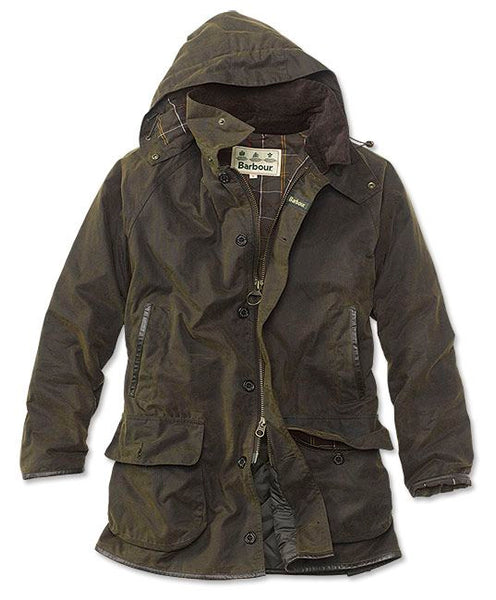 Barbour Longhurst Wax Jacket Olive