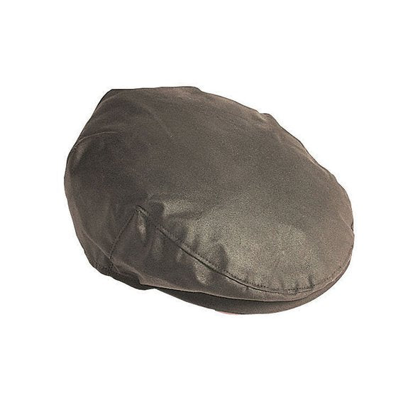 Barbour Cheviot Wax Flat Cap