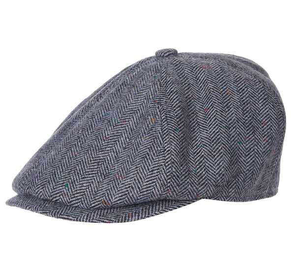 Barbour Tinsley Bakerboy Hat Grey
