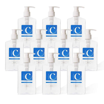 Clisen Hand Sanitizer GEL 75% Ethyl Solution (8 oz) 10 Pcs Value Pack