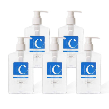 Clisen Hand Sanitizer GEL 75% Ethyl Solution (8 oz) 5 Pcs Value Pack