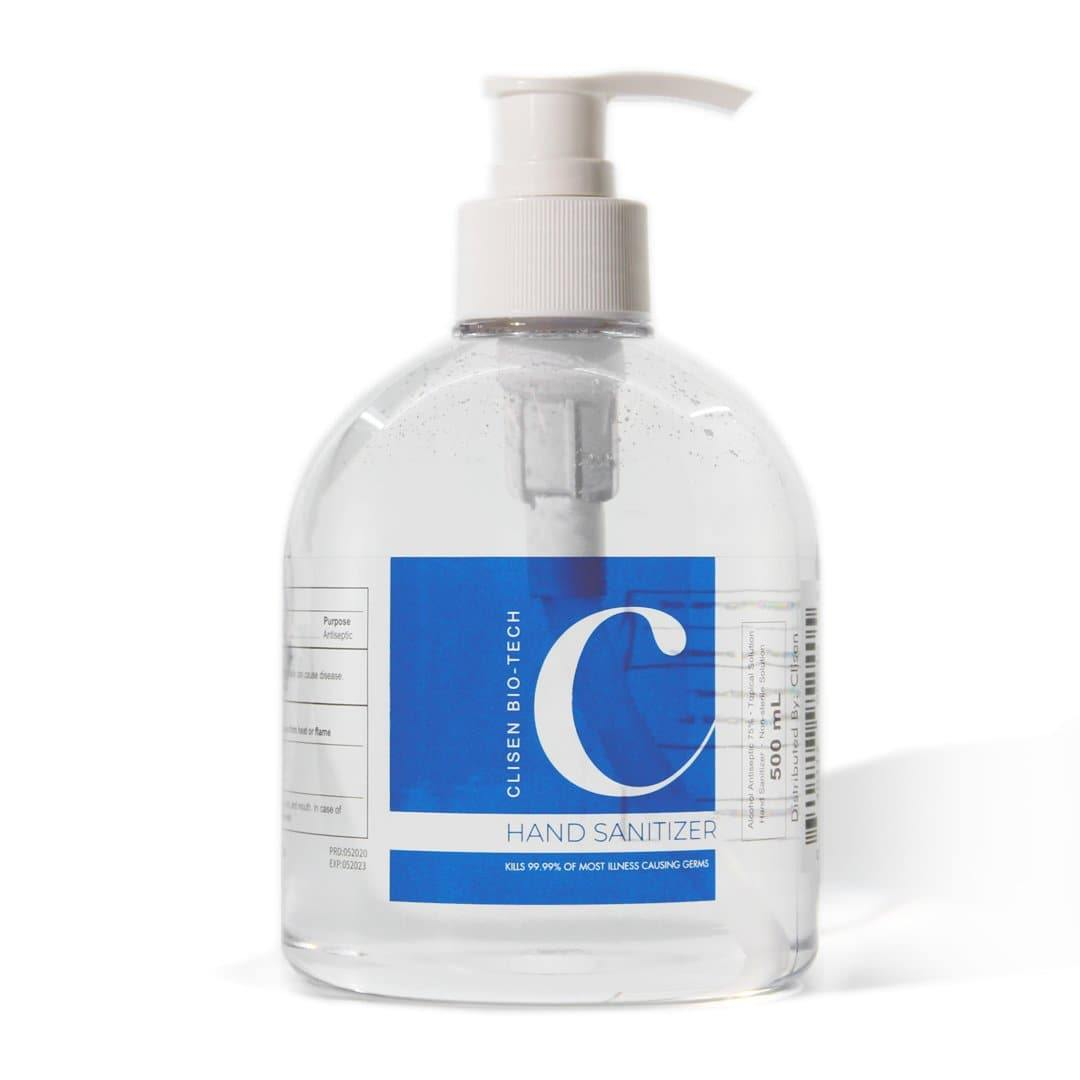Clisen Hand Sanitizer GEL 75% Ethyl Solution (16.9 oz)