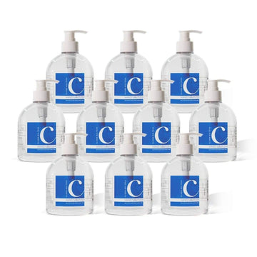 Clisen Hand Sanitizer GEL 75% Ethyl Solution (16.9 oz) 10 Pcs Value Pack