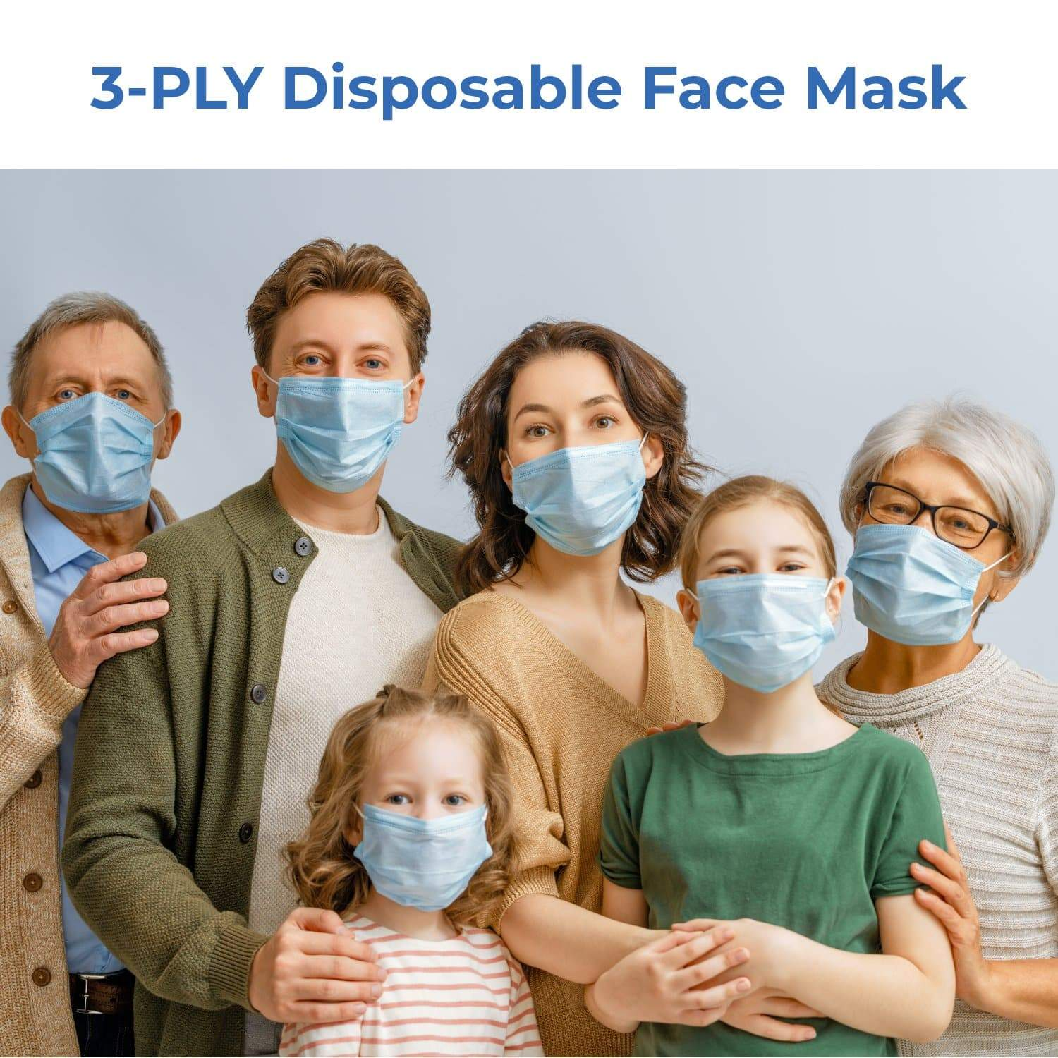 CLISEN DISPOSABLE SURGICAL MASK (NON-MEDICAL USE)