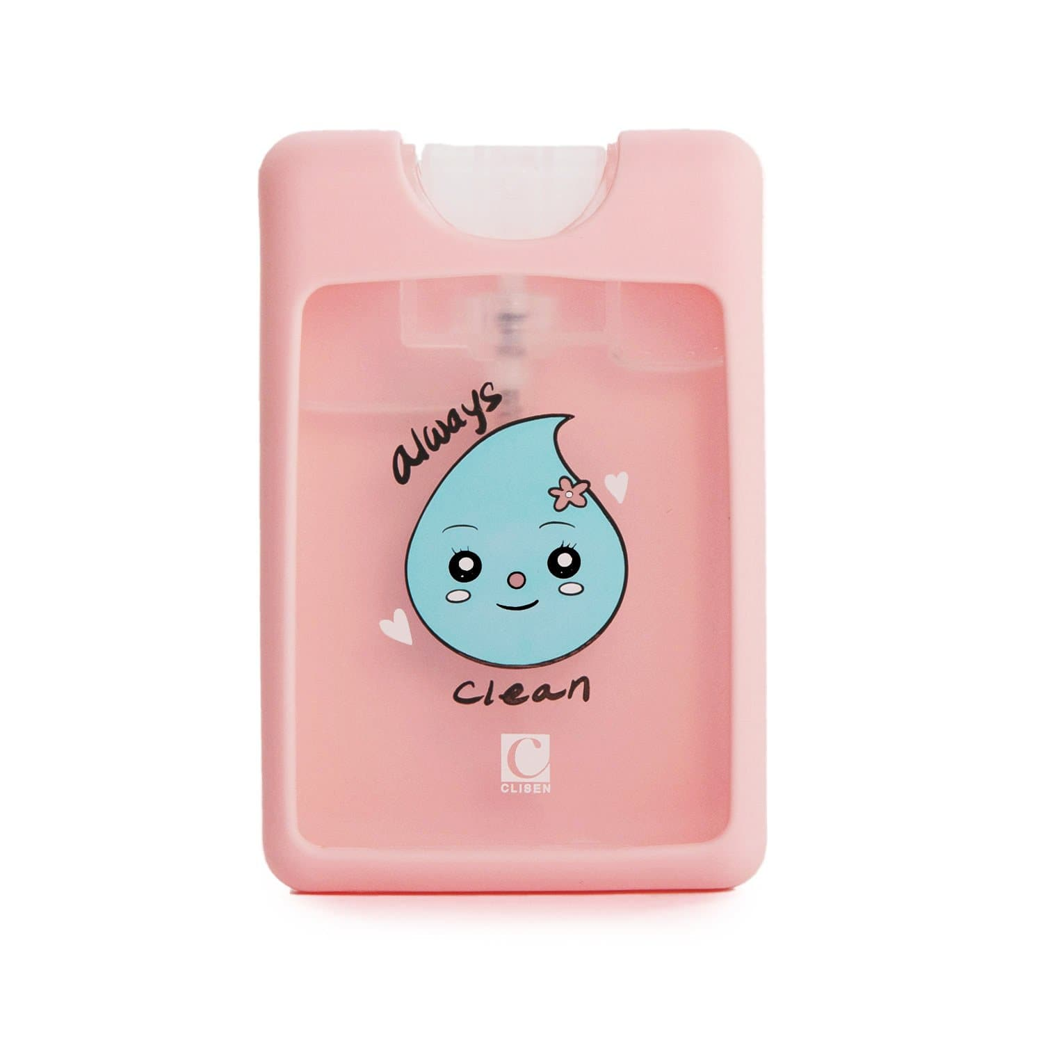 Clisen Pocket Mini Credit Card Style Hand Sanitizer Spray