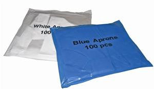 Premium Disposable Flat Pack Aprons Pack Of 100 - NCSONLINE