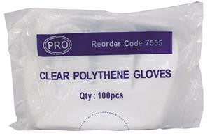 Polythene Gloves Pack of 100