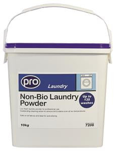 Non Biological Washing Powder 10KG Tub - NCSONLINE