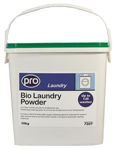 Biological Washing Powder 10KG Tub - NCSONLINE