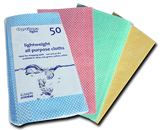Optima Lightweight J-Cloth Pack Of 50 - NCSONLINE