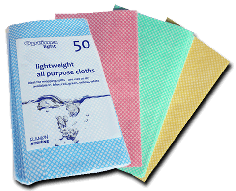 Optima Lightweight J-Cloth Pack Of 50