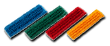 Colour Coded Microfibre Mop Heads Pack of 5 - NCSONLINE