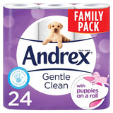 Andrex Puppies on a Roll x 24 - NCSONLINE