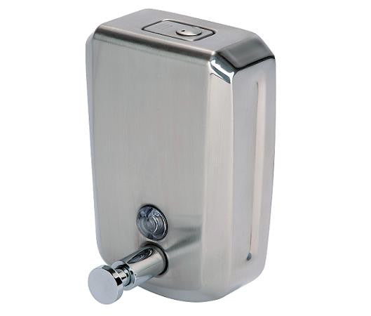 Stainless Steel Bulk Fill Soap Dispenser 800ml - NCSONLINE