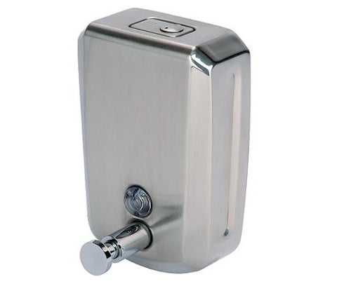 Stainless Steel Bulk Fill Soap Dispenser 900ml