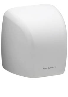 Value Hand Dryer Standard White Metal 2100w