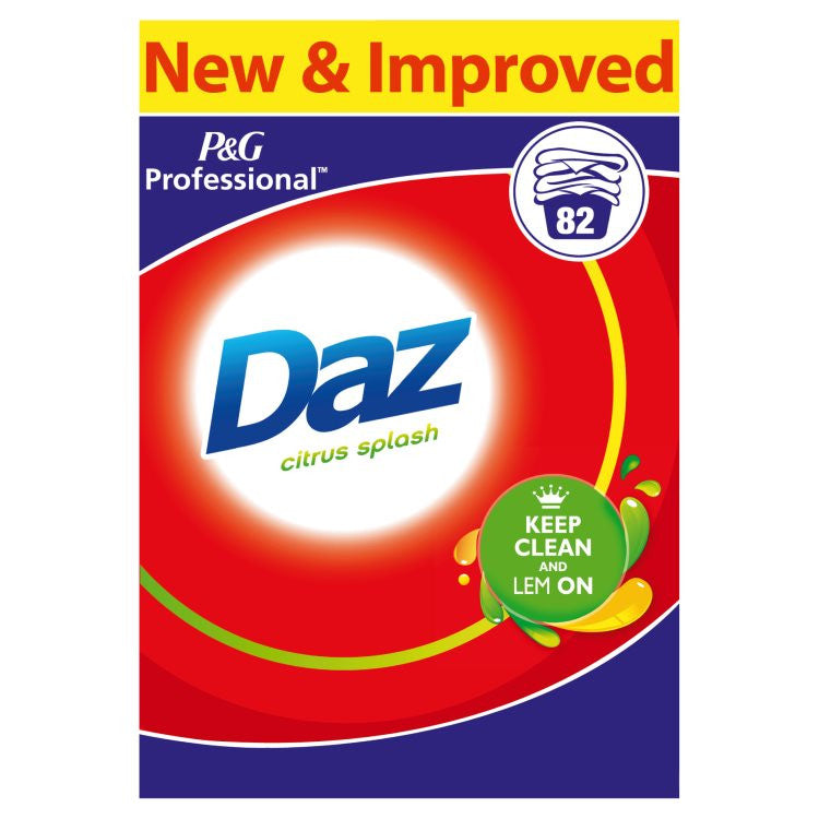 Daz Professional Washing Powder Regular 82 Washes - NCSONLINE