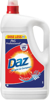 Daz Laundry Liquid Original 100 Washes 5L - NCSONLINE