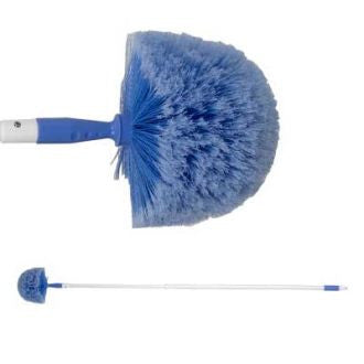 Domed Cobweb Brush c/w Extending Handle