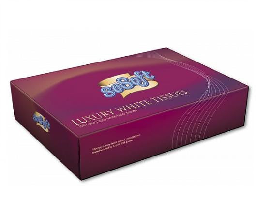 So Soft Facial Tissues 100 Sheets Box Of 36 - NCSONLINE